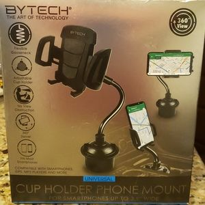 Bytech Cup Holder Phone Mount for Smartphones